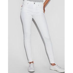 Express White Jean Midrise Legging